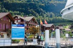 Brienz kryssning, Schweiz Royaltyfri Bild