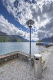 At the lake promenade Stock Photography