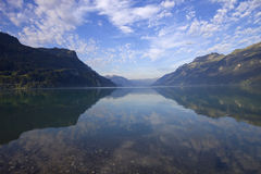 Brienz lake Royalty Free Stock Images