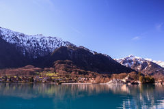 Brienz lake Royalty Free Stock Photo