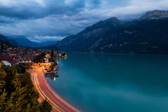 Brienz at night Royalty Free Stock Image
