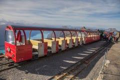 Brienz-Rothorn Schweitz - drevstation II Royaltyfri Foto