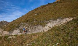 Brienz-Rothorn, Switzerland - Hiker Stock Images