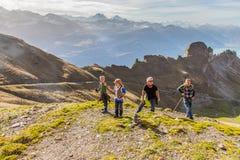 Brienz-Rothorn, Switzerland - Hiker II Stock Images