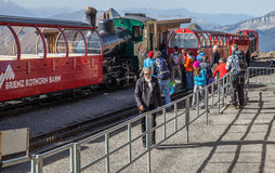 Brienz-Rothorn, Switzerland - Train Station Royalty Free Stock Photography