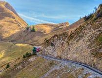 brienz-Rothorn Taborowy Szwajcaria - Parowy Pociąg III Fotografia Stock