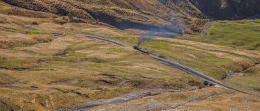 brienz-Rothorn Taborowy Szwajcaria - Parowy Pociąg V Fotografia Stock