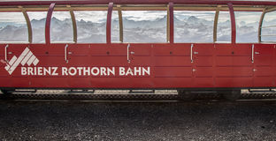 Brienz-Rothorn Train Switzerland - Steam Train VII Stock Photos