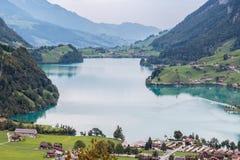 BRIENZ SWITZERLAND/EUROPA, WRZESIEŃ 22, -: Widok blisko Brienz wewnątrz Fotografia Stock