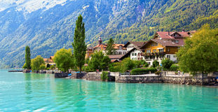 Brienz Village stock photography