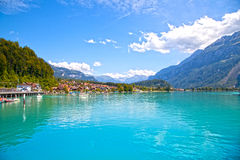 Brienz Village Royalty Free Stock Photography