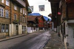 Brienz village, Berne canton, Switzerland Stock Photos