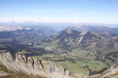 Brienzer Rothorn. Fall in the Swiss alps royalty free stock photos