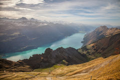 Brienzer Rothorn Mountain, Switzerland II Stock Photos