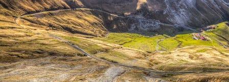 Brienzer Rothorn Mountain, Switzerland -Rail Track Stock Images