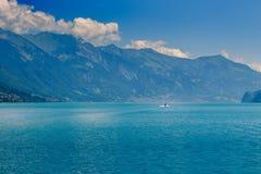 Brienzersee, Interlaken Switzerland. Lake Brienzersee in the summer. Interlaken, Bernese Oberland, Switzerland Royalty Free Stock Photo