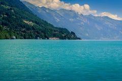 Brienzersee, Interlaken Switzerland. Lake Brienzersee in the summer. Interlaken, Bernese Oberland, Switzerland Stock Images