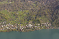 Brienzersee lake - Switzerland. Royalty Free Stock Photo