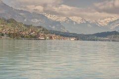 Brienzersee lake - Switzerland. Stock Images