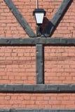 Brievenbakstenen en lantaarn royalty-vrije stock afbeelding