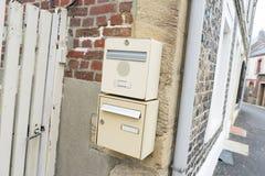 brievenbus Stock Foto