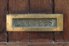 brievenbus stock foto's