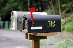 brievenbus Stock Afbeeldingen