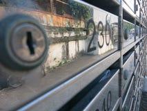 brievenbussen Stock Afbeelding