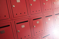 brievenbussen Royalty-vrije Stock Foto's