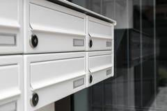 brievenbussen Stock Afbeeldingen