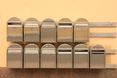 brievenbussen Stock Foto
