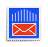 Brievenzegel Royalty-vrije Stock Afbeelding