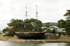 Brig Amity Replica Ship. Albany - Australia royalty free stock photos
