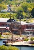 Brig Niagara. Lake Erie Coast royalty free stock images