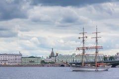 Brig Tre Kronor Stock Afbeelding