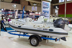 CNR International Eurasia Boat Show Stock Photography