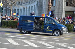 Brigada Antiterrorist Fotografia de Stock