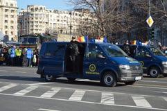 Brigada antiterrorista Foto de archivo libre de regalías