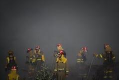 Brigada contraincendios Foto de archivo libre de regalías