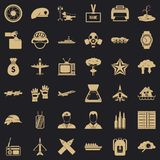 Brigade icons set, simple style. Brigade icons set. Simple set of 36 brigade vector icons for web for any design vector illustration