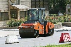 Brigade road repair workers Stock Photography