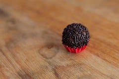 Brigadeiro (бразильская конфета) Стоковые Изображения RF