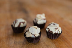 Brigadeiro (brazilian candy) Stock Photo