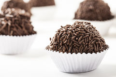 Brigadeiro a brazilian sweet Royalty Free Stock Images