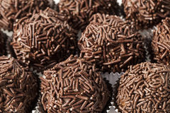 Brigadeiro a brazilian sweet Stock Photo