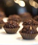 Brigadeiro do chocolate Imagens de Stock