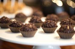 Brigadeiro do chocolate Foto de Stock Royalty Free