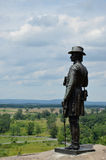 Brigadier General Gouverneur Warren - Gettysburg Royalty Free Stock Image