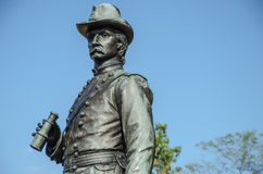 Brigadier General K. Warren - Gettysburg Royalty Free Stock Photography