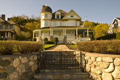 Brigadoon. Victorian Style house on Mackinac Island Royalty Free Stock Images